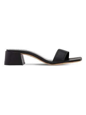 BY FAR 40mm courtney leather sandals