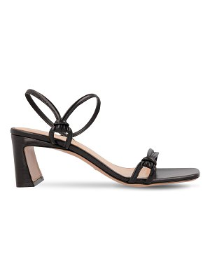 BY FAR 60mm charlie leather sandals