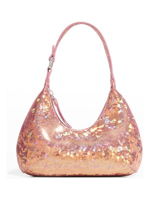 BY FAR Baby Amber Holographic Shoulder Bag