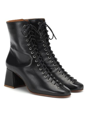 BY FAR Becca leather ankle boots