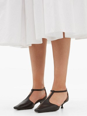 BY FAR bella leather mary jane pumps