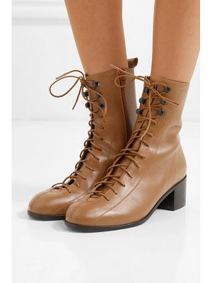 BY FAR bota leather ankle boots