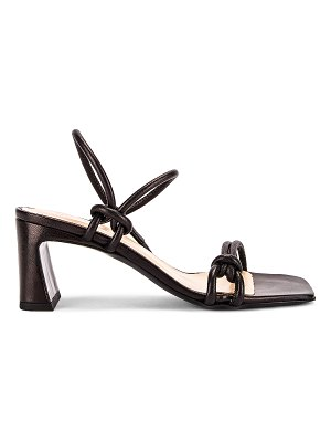 BY FAR charlie leather sandal