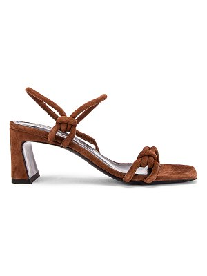 BY FAR charlie suede leather sandal