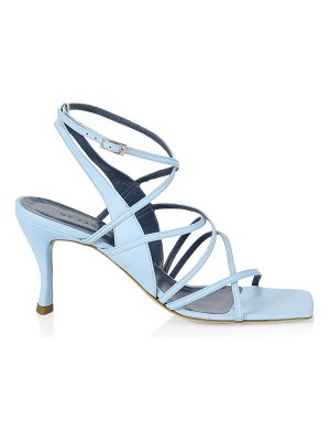 BY FAR christina strappy leather sandals
