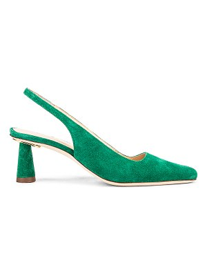 BY FAR diana suede leather pump
