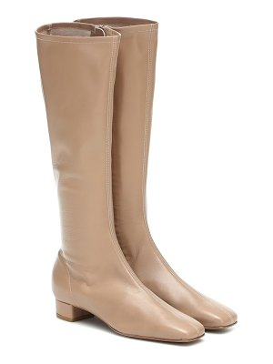 BY FAR edie knee-high leather boots
