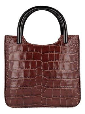 BY FAR Eric Croc-Embossed Leather Tote Bag