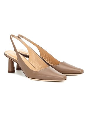 BY FAR exclusive to mytheresa – diana leather pumps