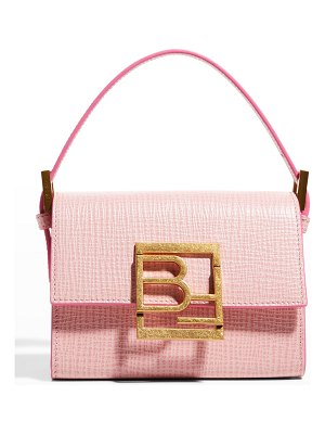 BY FAR Fran Embossed Leather Top-Handle Bag