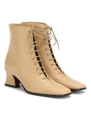 BY FAR Kate leather ankle boots