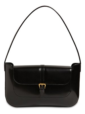 BY FAR Miranda semi patent leather bag
