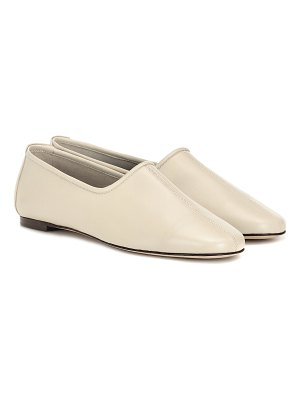 BY FAR petra leather ballet flats