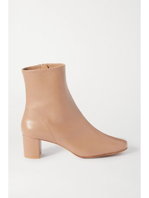 BY FAR sofia suede ankle boots