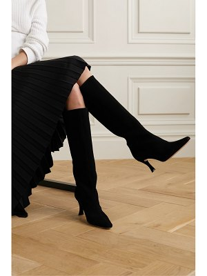 BY FAR stevie suede knee boots