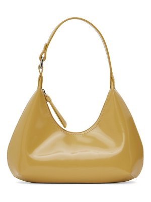 BY FAR yellow baby amber bag