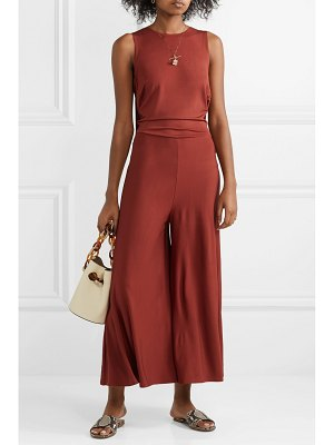 By Malene Birger open-back jersey jumpsuit