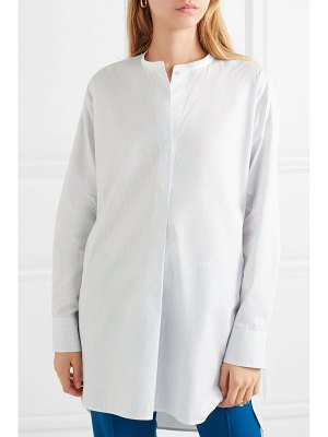 By Malene Birger tilli striped cotton-poplin shirt