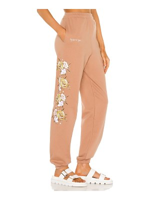 By Samii Ryan bouquet pigment dyed sweatpants
