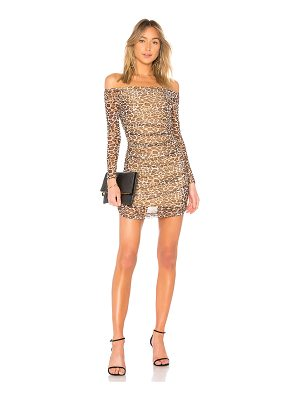by the way. Adley Mesh Leopard Dress