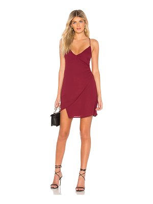 by the way. Aiden Wrap Mini Dress