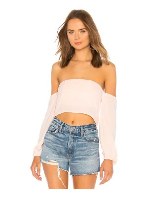 by the way. Alexander Blouson Sleeve Top