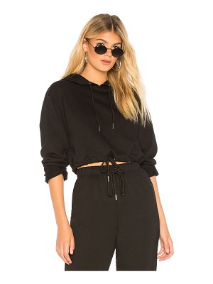 by the way. alyson cropped hoodie sweatshirt