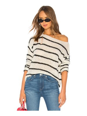 by the way. Eden Striped Sweater