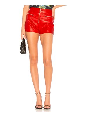 by the way. Eliza Faux Leather Shorts
