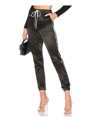by the way. Jimena Contrast Piping Pants