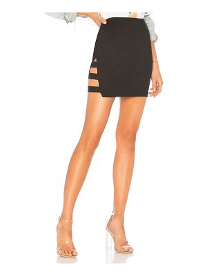 by the way. Karly Side Bar Mini Skirt