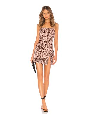 by the way. Kensley High Slit Shift Dress