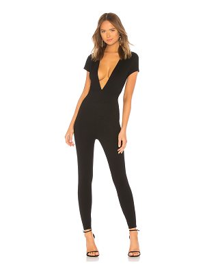 by the way. Leona Deep V Catsuit