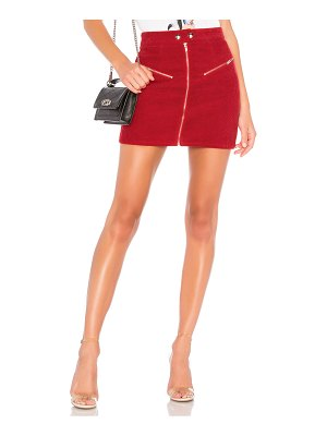 by the way. Malika Corduroy Mini Skirt