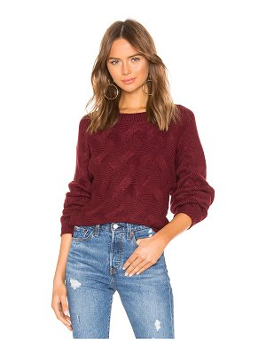 by the way. Raquel Woven Sweater