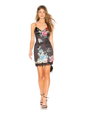 by the way. Reese Lace Trim Mini Dress