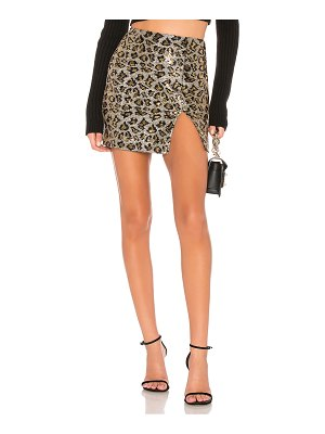 by the way. Travie Sequin Mini Skirt