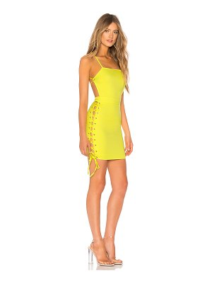 by the way. Viviana Lace Up Side Dress