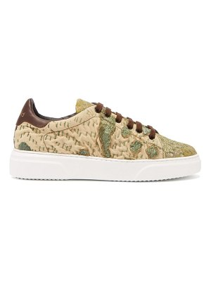 BY WALID 19th century tapestry low top trainers