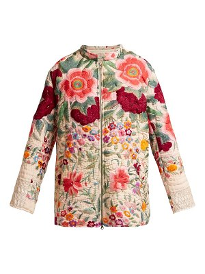 BY WALID Samia 19th Century Embroidered Silk Jacket