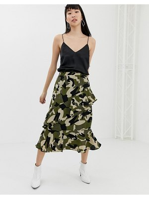 b.Young camo wrap skirt