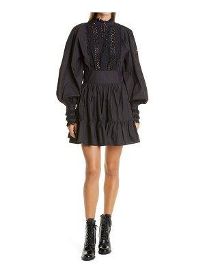byTiMo broderie anglaise minidress
