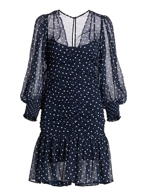byTiMo summer of love chiffon ruched dress