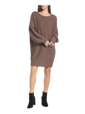 CAARA day-by-day oversize sweater dress