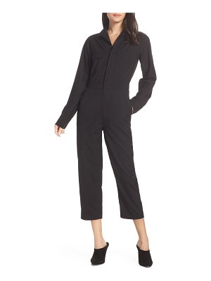 CAARA utility long sleeve jumpsuit