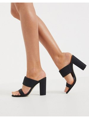Call it Spring by aldo falelia perspex heeled sandal in black
