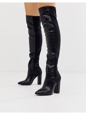 Call it Spring by aldo fontana knee high boots in black