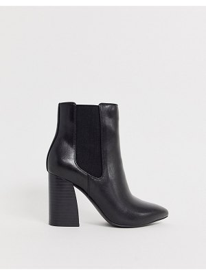Call it Spring by aldo highrise heeled ankle boots in black