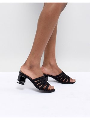 Call it Spring Call It Spring Etoclya Black Heeled Mules