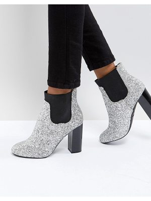 Call it Spring Call It Spring Glitter Heeled Ankle Boots